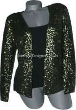 NWT CARMEN MARC VALVO sequin M sweater set evening holiday cocktail party $500