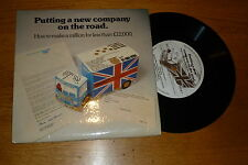 """A POST OFFICE PRODUCTION - Putting a new company on the road - UK 7"""" Single"""
