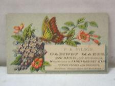 Vintage PA. Nilson Cabinet Maker Victorian Trade Card