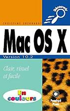 Mac OS X - Version 10.2 Jaguar by Eberhardt, Christine