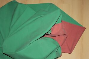 9551I, Gummilaken 250 x 110cm., aus Rot/Grün Gummibettstoff, Krankenhausqualität