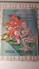 Rare 1965 Bruce Taylor NFL Player Perth Amboy NJ High School Football Program !!
