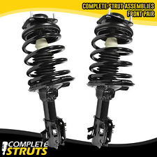 90-94 Mazda Protege (2) Front Quick Complete Struts & Coil Spring Assembly Pair
