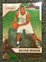 2016-17 Panini Prizm Malcolm Brogdon Rookie Rc #17 Mint / Gem Pacers Superstar