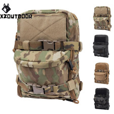 Military Tactical Hydration Pack Outdoor Backpack Molle Pouch Paintball Hiking
