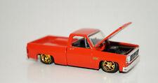 RED 1976 GMC SIERRA CUSTOM SQUAREBODY TRUCK 1/64 DIECAST '76 CHEVROLET M2