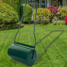 LAWN ROLLER HEAVY DUTY METAL 35L WATER/SAND FILLED GARDEN FOR PERFECT GRASS LAND