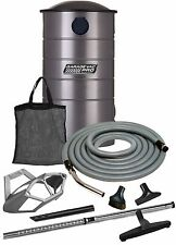 VacuMaid GV50PRO Wall Mounted Utility Vacuum with 50 ft Hose and Attachments
