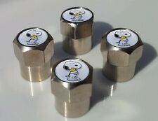 SNOOPY AND PEANUTS WOODSTOCK  TYRE VALVE CAPS FOR TIRE WHEEL