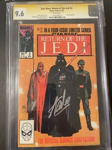 Star Wars ROTJ #2 - CGC SS 9.6- Signed by Stan Lee Vintage Comic Gold Label