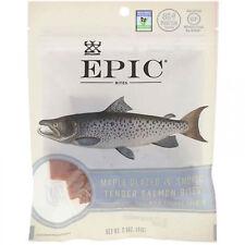 Epic Bar, Bites, Maple Glazed And Smoked, Tender Salmon, 2.5 Oz (71 G)