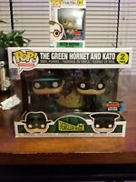 Funko Pop Green Hornet and Kato 2 Pack NYCC 2019 Fall Convention Exclusive