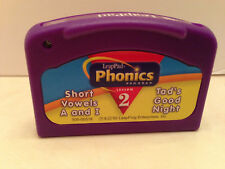 Leap Frog Pad Phonics 2 Game Short Vowels Purple Cartridge Only Tads Good Night