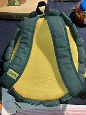 Vintage Ninja Turtles Backpack Nickelodeon 2012 Made In China
