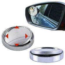 360°Adjustable Wide Angle Convex Car Blind Spot Round Stick Side Rearview Mirror
