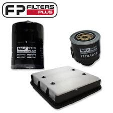 WA1181 + WZ372 + WCF103 Filter kit - Mitsubishi Triton 3.2L T/Diesel - ML