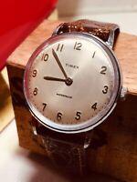 Vintage 1963 Timex Marlin Rare Dial Mens Watch 2010/2263