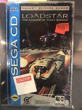 Loadstar: The Legend of Tully Bodine (Sega CD, 1994) NEW SEALED! Hangtab!