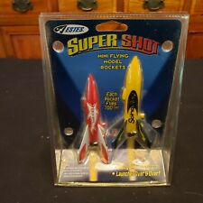 NOS 2005 Estes Super Shot Mini Flying Model Rocket Launch Set #1887