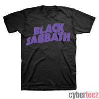 BLACK SABBATH T-Shirt Purple Logo (S-3XL) Ozzy New OFFICIALLY LICENSED
