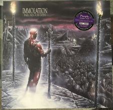 Immolation – Failures For Gods LP Ltd Purple Vinyl New (2017) Death Metal