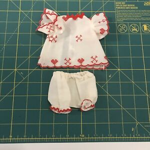 SUMMER OUTFIT for BLEUETTE Antique Doll Reproduction Handsewn