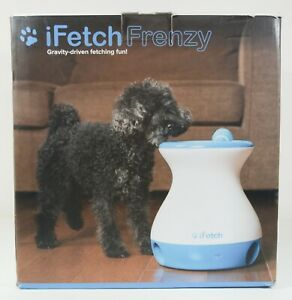 iFetch Frenzy Gravity Driven Interactive Non Electronic Dog Fetch Toy - No Balls