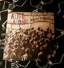 Mickey Thomas * alive alone *** gold stamped numbered promo copy *** vinyl Lp **