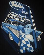 Bobs Big Boy Medium T Shirt Original Double Deck Hamburgers Classic Rare !