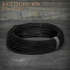 American Bonsai Black Aluminum Training Wire - 2.0mm - 1 kilogram - 400 ft - 1k