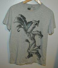 Diesel Jeans Gray Graphic T-Shirt Tennis Mens Size Xl (Slim Brand)