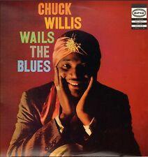 "CHUCK WILLIS ""WAILS THE BLUES"" RHYTHM AND BLUES LP  EPIC 3425"
