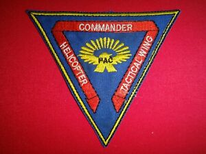 US Navy Patch COMMANDER HELICOPTER TACTICAL WING PAC In San Diego
