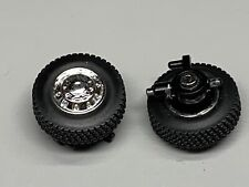 1/64 DCP PARTS T800 FRONT FLOAT STEER WHEELS
