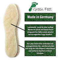 warme Lammwolleinlagen rutschfest 1er oder 2er Pack Schuheinlagen Einlegesohlen