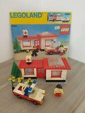 LEGO  vintage  set 6364 Poste de secours  Legoland (c60)