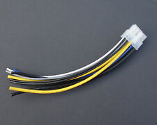10-pin Speaker out Harness Power cable Plug remote For Alpine 3503 Amplifier New