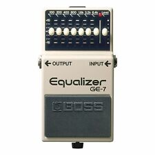 Boss Ge-7 graphischer Equalizer 4957054024888