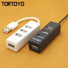Mini High Quality Portable Multi 4 Ports USB Hub Charger USB2.0 Charging Station