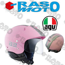 Casco AGV Bali B2 Trendy E2205 Multi Plain Rosa e Argento taglie L