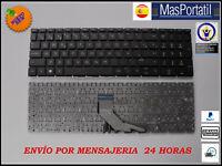 TECLADO ESPAÑOL NUEVO PORTATIL HP PAVILION 15-DA0002TU NEGRO L20387-071 TEC3