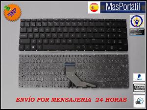 TECLADO ESPAÑOL NUEVO PORTATIL HP PAVILION 15-DB0007NS  15-DB0010NS  NEGRO TEC3
