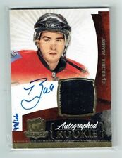 10-11 UD The Cup  T J Brodie  /66  Gold Spectrum  Auto  Patch  Rookie