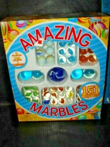 Imperial Amazing Marbles Deluxe set for Collectors and Game Players 151 Marbles