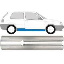Volkswagen Golf 3 III 1991-1998 3 Tür Voll Schweller Reparaturblech / Paar