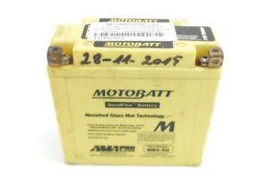 Batterie Pour Moto Motobatt MB5.5U 12V Poli Interchangeables Batterie