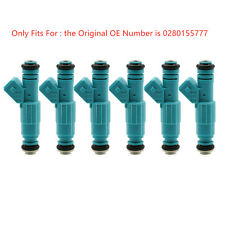 6x Fuel Injectors For Holden Commodore VG VN VL VQ VP VR VS VT VU VX VY V6 3.8L