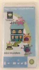 Cricut Cartridge Mini Monsters Brand New