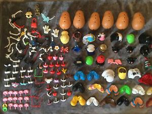 Mr Potato Head Lot Disney Parks Over 100 Pieces