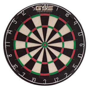 "18x1.5"" Tournament Dartboard. Professional Bristle Dart Board for Steel Tip Dart"